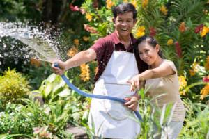 Joyful moments in gardening